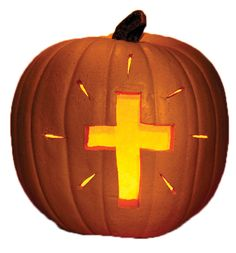 Cross-O-Lantern Pumkpin Object Lessons - Free Bible Lessons