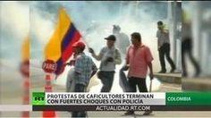 #Colombia: Gobierno reprime protesta cafetera