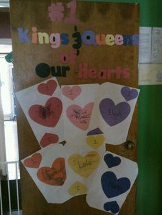 Valentine Day Daycare Door Decoration