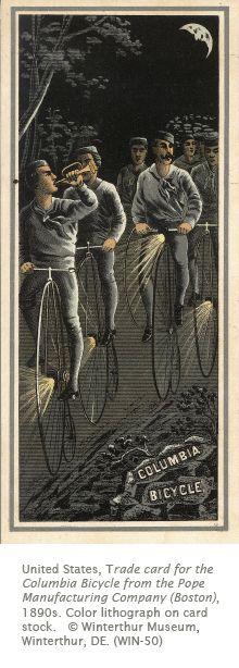 Columbia Bicycle trade card