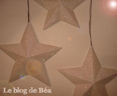 Voici le pas à pas détaillé pour fabriquer des étoiles scintillantes en papier canson. Il vous faudra : Du papier canson, un crayon, une...