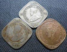 BRITISH INDIA - GEORGE V & VI - 2 ANNA 1944 1919 1936 - 3 Different Coins