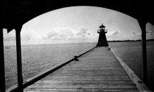 Winnipeg Beach Lighthouse, circa 1950's. www.gaylehalliwell.com Lake Winnipeg, Lighthouse, Rocks, Beach, Bell Rock Lighthouse, Light House, The Beach, Lighthouses, Beaches