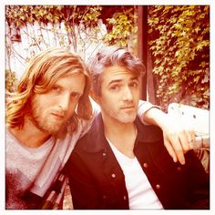 Keith Murray & Andy Burrows. (We Are Scientists)