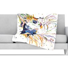 KESS InHouse Sophia Fleece Throw Blanket   AllModern