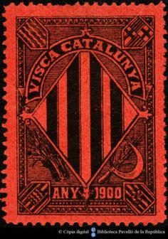 Temes-Visca Catalunya :: Segells del Pavelló de la República (Universitat de Barcelona) Stamps, Playing Cards, Cat, Seals, Playing Card Games, Cat Breeds, Postage Stamps, Stamp, Cats