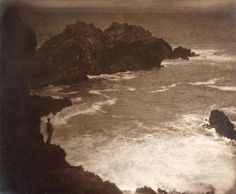 Anne Brigman, The Strength of Loneliness, 1914