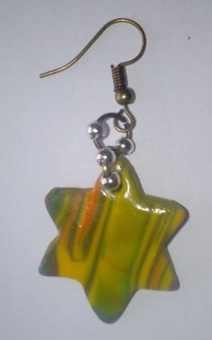 --- - green unique now . Rainbow Connection, Jewelry Shop, Earrings Handmade, Keep It Cleaner, Arts And Crafts, Yellow Jewelry, Drop Earrings, Etsy, Christmas Ornaments