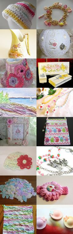 Light colors by SandyCasp on Etsy--Pinned with TreasuryPin.com