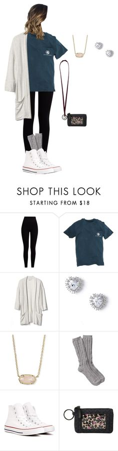 """""""Back to School outfit 20"""" by abby-uptain on Polyvore featuring Pepper & Mayne, Southern Proper, Gap, Miss Selfridge, Kendra Scott, UGG, Converse and Vera Bradley"""