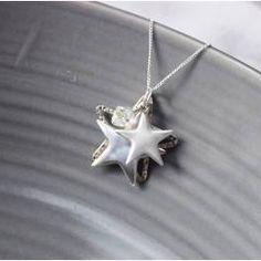 Orsino Silver Star Necklace
