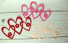 Valentine Die Cuts Intertwined Heart Die Cuts by BellaBoutique23