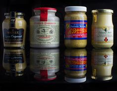 Get Sharp: Our 4 Favorite Mustards | How's this for a little yellow journalism? - TastingTable""