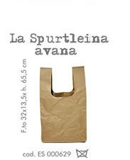 La spurtleina (bag) colore avana naturale