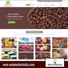 Opal Infotech has launched a responsive website – www.brenzfoods.com on #WordPress platform for Brenzfoods, which is a Cameroon based company. Brenzfoods Company Ltd is an enterprise created to promote season African food stuff and delivers it at your door step such as Energy drinks, Coffee, Garlic, Rice, Natural Mineral Water, Non-carbonated Beverages, Maize and many more. To get more WordPress Web Designs visit at http://www.webmasterindia.com/portfolio/ or E-mail at…