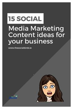 Are you running out of #content ideas? We have 15 #socialmedia content ideas for you right here!