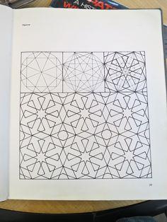 Geometric design with compass & ruler Geometric Pattern Design, Geometric Designs, Geometric Shapes, Islamic Art Pattern, Arabic Pattern, Vector Pattern, Pattern Art, Motifs Islamiques, Motif Oriental