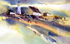 Herry Arifin WATERCOLOR, pastel, ink