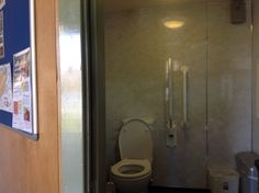 Accessible toilet at Glenridding Pier House Toilet, Sink, House, Home Decor, Homemade Home Decor, Vessel Sink, Home, Sink Tops, Litter Box