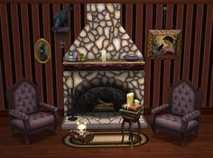 In the City in the Rain - Random Gothique objects for TS2