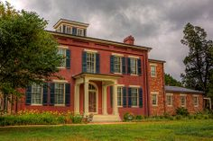 Chippokes Plantation - Front in HDR - Chippokes Plantation in Surry, VA. A Virginia State Park.