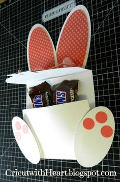 Cricut with Heart idea for easter with instructions