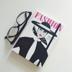 glasses + notebook