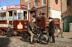 """The town of Beamish in England. Its a """"living museum"""" meaning its basically a working Victorian town you can visit and experience that time period."""