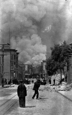 San Francisco, April 18, 1906. Photo: Arnold Genthe/Library Of Congress