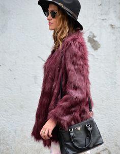 Soy Tendencia, Santiago fashion blog chile Chile, Fur Coat, Blog, Jackets, Outfits, Fashion, Saint James, Trends, Down Jackets