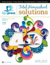 Have you received your #bjupress 2014 #homeschool #catalog yet? We think the cover is pretty awesome!