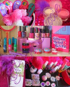 Spa Themed Birthday Party For Girls | Spa Parties Spajama Party Pink Pixie