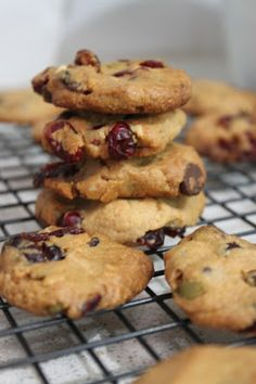 More than Words: Chocolate Chip, Peanut Butter and Cranberry Cookies