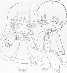Rokuro and Benio | Twin Star Exorcists, Sousei no Onmyouji #tse