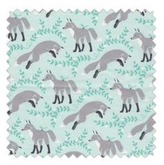 Tissu socks the fox aqua
