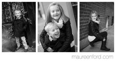Black & White Family Portraits, Kids Photographer Boston, Boston Children Photographer, Family Photos Boston, Siblings, Sibling Photography, Brother And Sister Portrait -- Copyright Maureen Ford Photography #MaureenFord