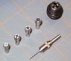 Chucks and Collets for Dremel Tools