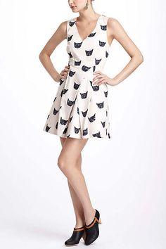 SOLD Size UK10 but runs large, EUC 65 glitters shipped. Feline Karma Dress - anthropologie.com