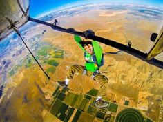 Asiento VIP #GoPRO #saltobase #flying #paracaidismo #yosoydeaire