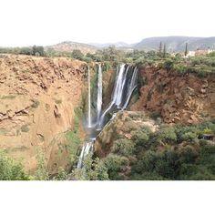 Ouzoude waterfall