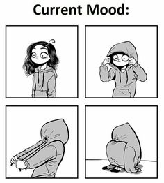 Jaje Current description of my reality haha Meme Comics, Memes Humor, Funny Relatable Memes, Funny Jokes, C Casandra Comics, C Cassandra, 4 Panel Life, Period Humor, Girl Problems