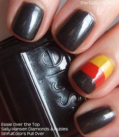 We love this German flag accent.