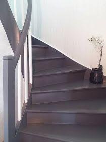 Silkeline: Trapp før og nå House Staircase, Stairs, Cabana, Installation Art, Paint Colors, Home Improvement, Sweet Home, New Homes, Loft