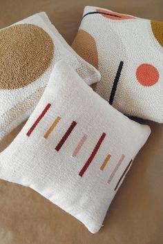 · WINDSTOREtextiles · Terracotta, mustard and beige accent pillows · Modern abstract pillowca. · WINDSTOREtextiles · Terracotta, mustard and beige accent pillows · Modern abstract pillowcases Modern pillow covers wi. Modern Pillow Covers, Modern Pillows, Boho Pillows, Diy Pillows, Accent Pillows, Decorative Pillows, Throw Pillows, Pillow Ideas, Cushions