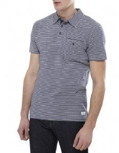 Gant Stripe Jersey Rugger Polo Shirt Eggshell Blue - £80 with FREE UK Delivery #Gant #PoloShirt #Mens #Fashion