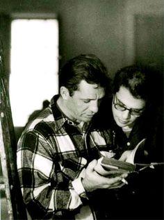 Jack Kerouac and Allen Ginsberg, NYC, 1959