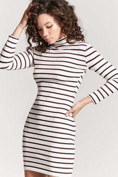 6f9a9f30e71c Forever 21 Striped Bodycon Dress Cute Dresses, Tight Dresses, Casual Dresses,  Maxi Dresses