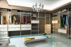 """Fantastic Ideas!  TLC Home """"How to Organize a Room Without a Closet"""""""