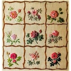 I wish I could do work like this.  Alas silk ribbon embroidery foils me every time.