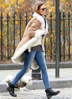 Olivia Palermo :: Layers as she knows how to